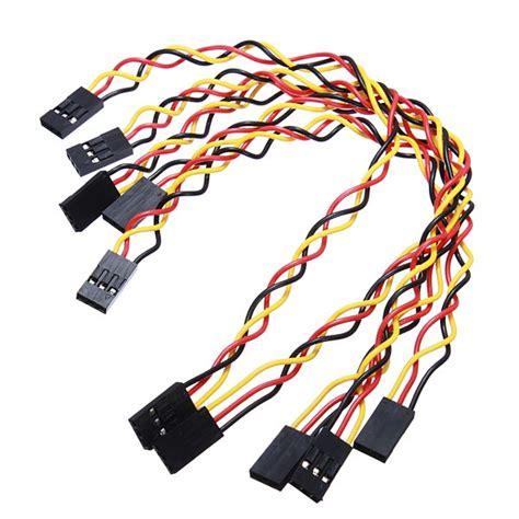 5pcs Kabel Jumper Arduino 20cm Dupon Cable 5 x 5pcs 3 pin 20cm jumper wire cables dupont line for