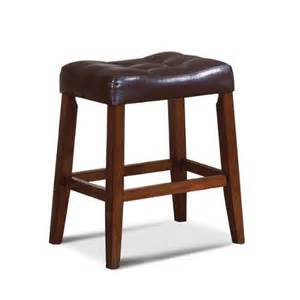 24 Saddle Bar Stools 24 Quot Espresso Saddle Counter Stool Bar Stools