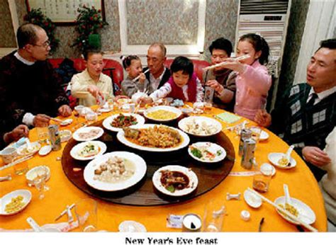 new year family feast lunar new year s china org cn