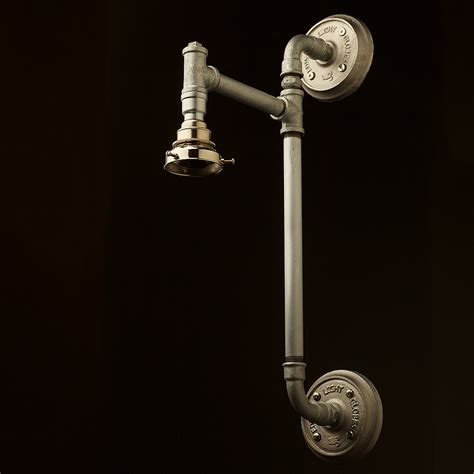 wall mount shop light wall mount pipe light shade edison light globes pty ltd