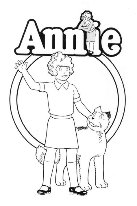 little orphan annie home page
