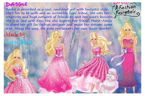 download barbie songs fashion fairytale