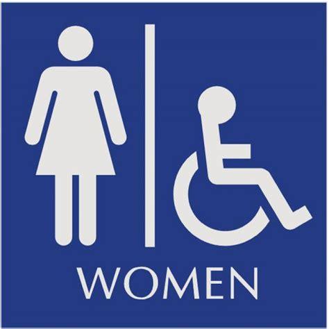 Handicap Bathroom Signs by S Restroom Sign Handicap Bathroom Sign Naag Tag