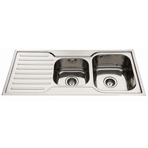 Everhard Sinks by Everhard 1080mm Squareline 1 190 Bowl Kitchen Sink With Drainer
