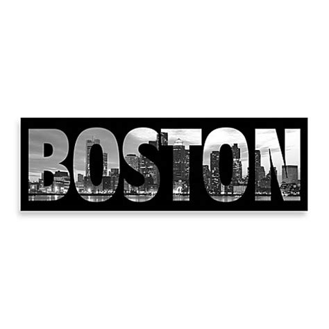 bed bath and beyond boston buy boston black and white wall art from bed bath beyond