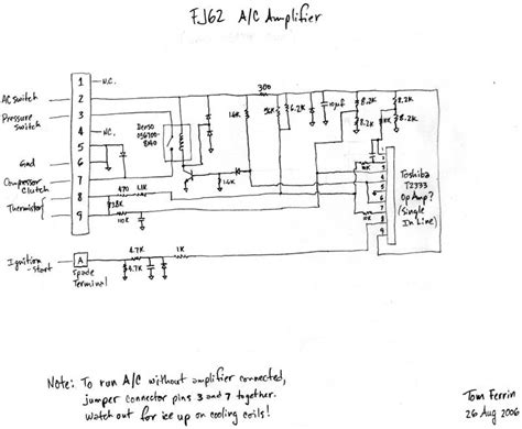 toyota ac lifier location toyota free engine image