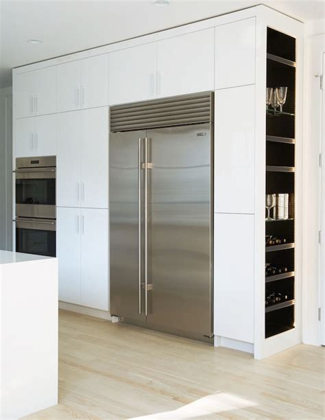 built in wine built in wine fridge design ideas