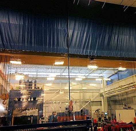 warehouse curtains industrial warehouse draft curtains akon curtain and