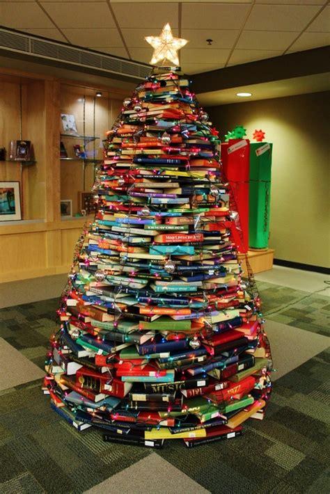 creative  unusual christmas trees