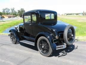 1929 ford model a 5 window standard coupe 70711