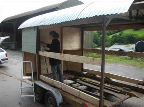 shepherds hut build youtube