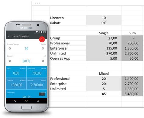 Open App Open As App мгновенно превращает таблицы в мобильные