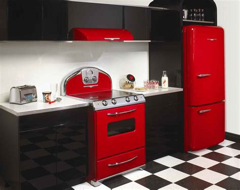 retro style kitchen appliances kitchens from the 1950s interior decorating