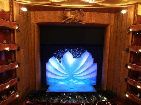 metropolitan opera house lincoln center section balcony
