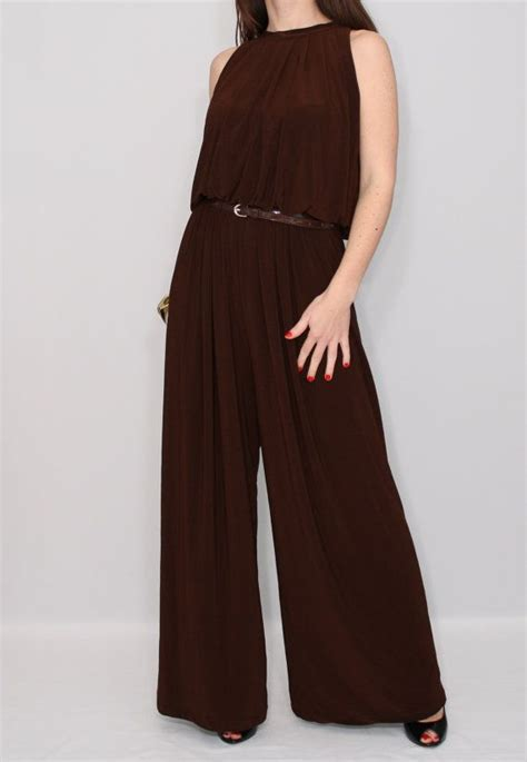 Brown Jumpsuit by 25 Best Ideas About Brown Jumpsuits On White