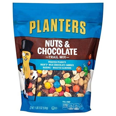 Planters Nuts And Chocolate Trail Mix by What S The Best Trail Mix For Your Czaal Is A