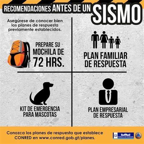 afiches de un sismo 17 best images about recomendaciones sismos on pinterest