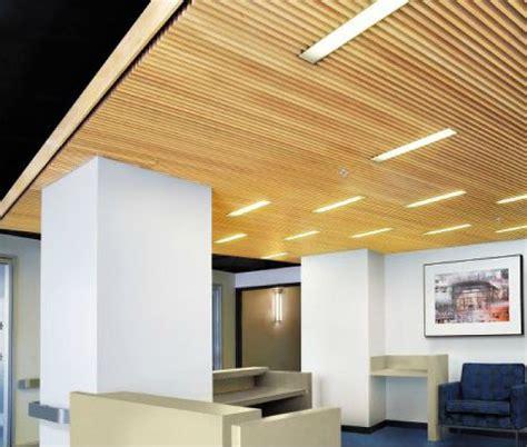 Slat Ceiling Wood Slat Ceiling Rock Center Client