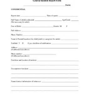 ohs incident report template free injury incident report form template incident report