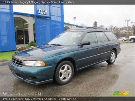 1999 subaru legacy wagon spruce green pearl 1999 subaru legacy l wagon gray