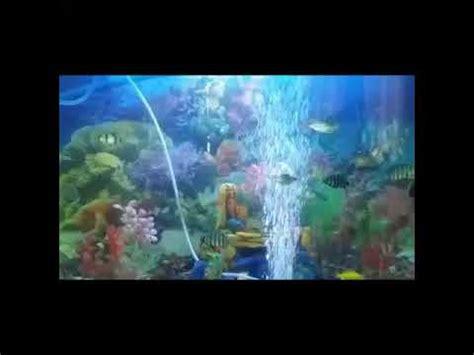 Pompa Aquarium Gelembung membuat gelembung udara pada pompa aquarium