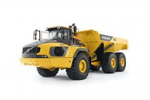 Volvo A50 Volvo A60h Artic Is Company S Largest With A 60 Ton