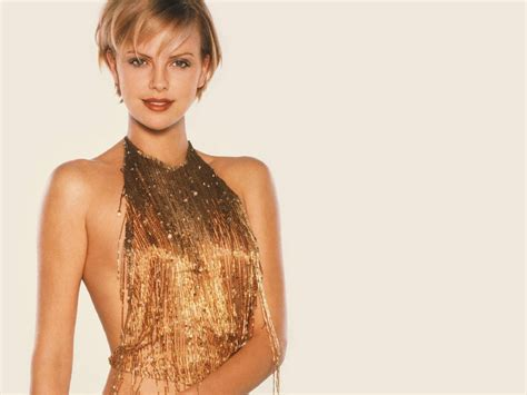 Charlize Theron Pretends To Model by Model Charlize Theron Wallpapers 6721