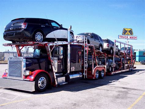 car carrier truck car haul 171 that big truck blog