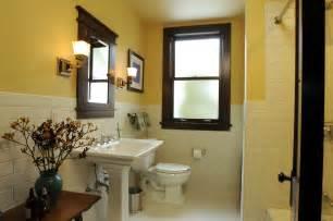 Craftsman Bathroom Architect Fred M Fargotstein Craftsman Bathroom Renovation
