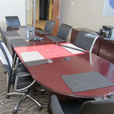 racetrack conference tables tri state office furniture