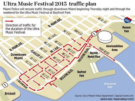 Miami Dade Traffic Search Cities Prepare For Traffic During Ultra Festival