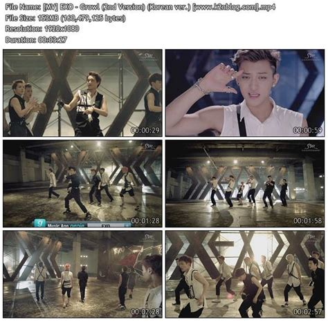 download mp3 exo growl download mv exo growl 2nd version korean ver hd