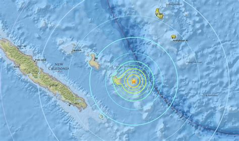 earthquake new caledonia new caledonia earthquake strikes pacific for second time