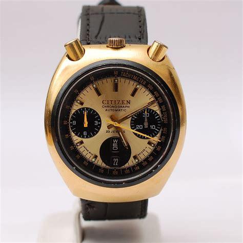 Citizen Automatic Vintage citizen automatik bullhead vintage chronograph kal 811a