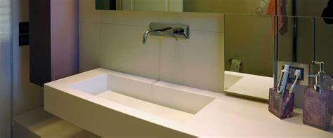 lavabo bagno corian foto lavabo da bagno in dupont corian 174 di arco arredo