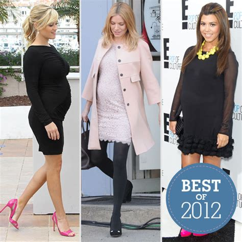 celebrity pregnant styles best celebrity maternity style in 2012 popsugar moms