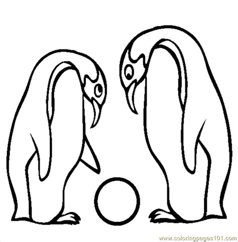 coloring pages emperor penguin birds gt penguin free