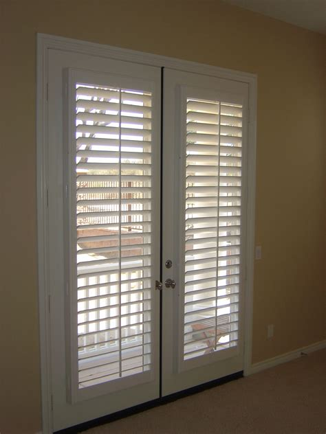 Patio Door Shutters Interior Collection Wooden Shutter Doors Pictures Woonv Handle Idea