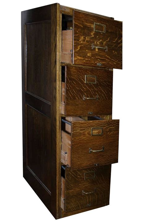 antique oak filing cabinet for sale at 1stdibs