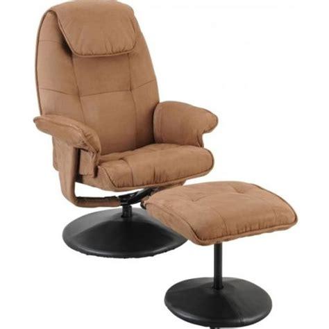 fauteuil relax avec pouf fauteuil relax concorde avec pouf
