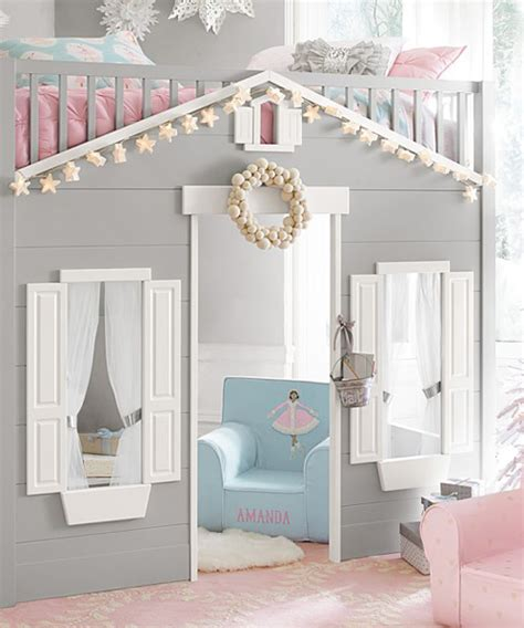 Play House Loft Bed Bunk Beds That Look Like A House