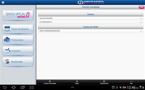 banca virtual banca virtual m 243 vil android apps on google play