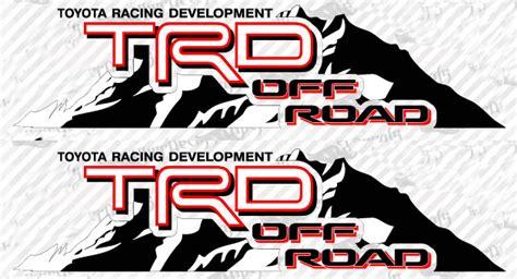 Lp Kaos T Shirt Ford Racing 2 High Quality Lp product 2 toyota trd mountain trd racing development side vinyl decal sticker 4