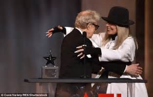 Studded Tribute To Diane Keaton Open All by Woody Allen Pays Homage To Muse Diane Keaton In
