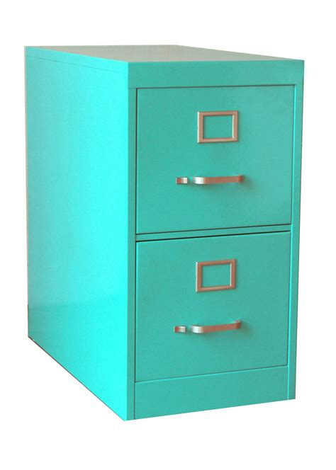 Colored Filing Cabinet by Twenty File Cabinet 2 Drawer Turquoise File