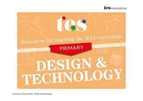 new year ks2 tes new curriculum 2014 primary design and technology by tes