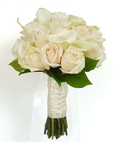 Wedding Bouquets by 4 White Wedding Bouquet Ideas