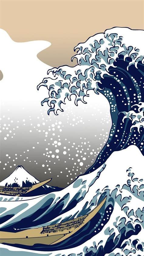 nature blue  great wave  kanagawa wallpapers hd