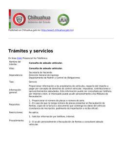consulta de adeudo de placas del estado de chihuahua baja precautoria de placas vehiculares