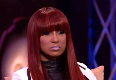 tara love olivia love and hip hop blonde hair olivia s red hair color and blunt bangs from love hip